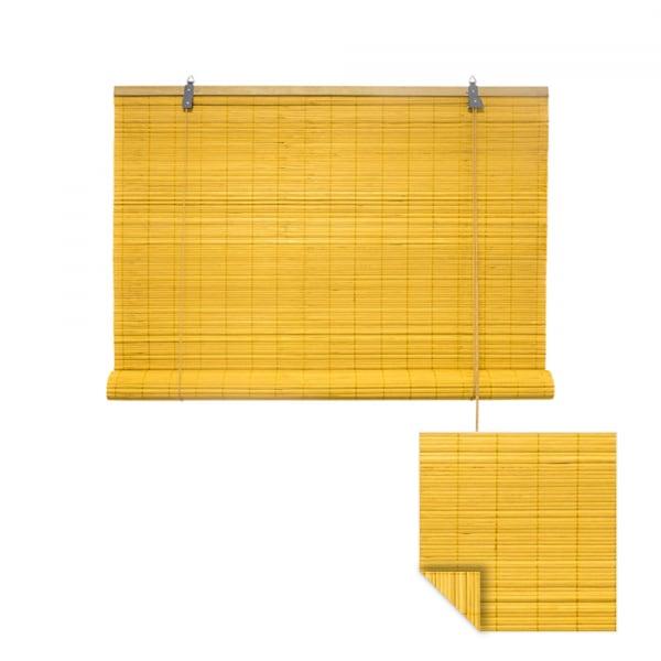 Klemmfix Bambusrollo 60 x 160cm, bambus
