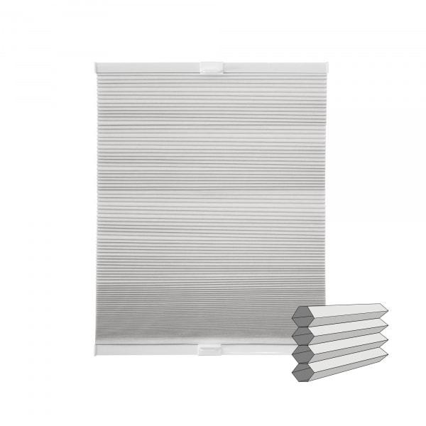 Wabenplissee   verdunkelnd, 100 x 130 cm, weiß