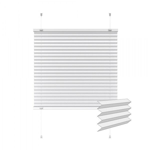 Indiva Lite Plissee | 75 x 100 cm, weiß