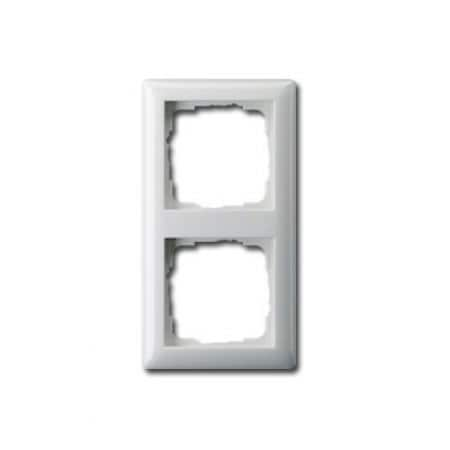 gira standard 55 2 fach rahmen 21203 abdeckrahmen schalterrahmen. Black Bedroom Furniture Sets. Home Design Ideas