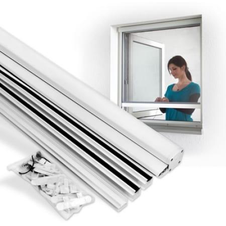 insektenschutzrollo 90 x 160cm fenster rollo klebfix insektenschutz jarolift. Black Bedroom Furniture Sets. Home Design Ideas