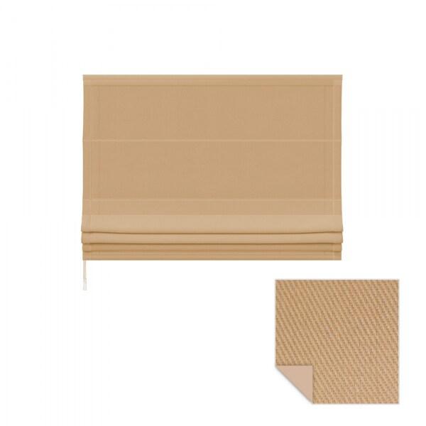 raffrollo 120 x 175cm beige victoria m. Black Bedroom Furniture Sets. Home Design Ideas