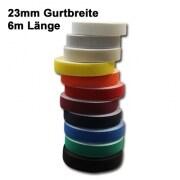 JAROLIFT 6,0m Rollladengurte / Gurtbreite: 23mm (Farbe nach Wahl)