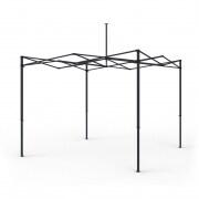 PARAMONDO Faltpavillon Premium Plus Gestell | 3 x 3 m, 40 mm Stahlrahmen