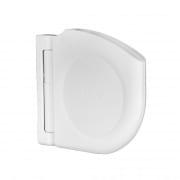 Selve Design Gurtwickler Aufputz mit Scharniersystem, weiss / ohne Gurt (085201)