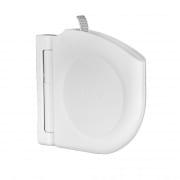 Selve Design Gurtwickler Aufputz mit Scharniersystem, weiss / inkl. 5m Gurt (085203)