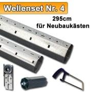 JAROLIFT SW60 Wellenset für Neubaukästen - bis 295cm