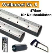JAROLIFT SW60 Wellenset für Neubaukästen - bis 475cm