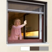 Aluminium Insektenschutzrollo Eco für Fenster (Farbe & Größe n. Wahl)