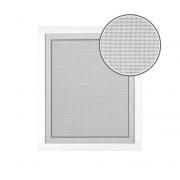 JAROLIFT Fliegengitter für Fenster 100 x 100cm, weiss