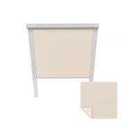 VICTORIA M Verdunkelungsrollo passend für Roto-Dachfenster | 07/11 | creme