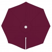 paramondo Sonnenschirm Bespannung für parapenda (Plus) Ampelschirm (3,5m / rund), bordeaux