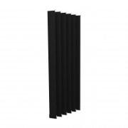 VICTORIA M Vertikaljalousie-Lamellen Isabella - I-Form, verdunkelnd - 8,9 x 250cm, schwarz | 6er Pack