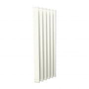 VICTORIA M Vertikaljalousie-Lamellen Isabella - I-Form, leicht lichtdurchlässig - 8,9 x 250cm, weiß | 6er Pack