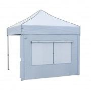 paramondo Wand mit Moskito-Fenster für Faltpavillon PRO 30 / PRO 40 / Premium Plus | 3 m, weiß
