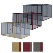 paramondo Comfort Gartenpavillon Seitenwand (Typ & Farbe nach Wahl)
