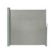 PARAMONDO Seitenzugmarkise 1,6 x 3m, grau