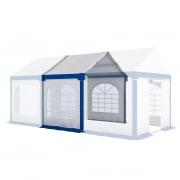 PARAMONDO Partyzelt Flex 3 x 2 m Erweiterungsmodul   weiß-blau