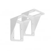 PARAMONDO Deckenhalterung für Kassettenmarkise Curve | weiß, 2er Set
