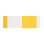 PARAMONDO Stoffmuster für Gelenkarmmarkise Easy | Stoff: Block, gelb-weiß