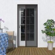 JAROLIFT Insektenschutz Plissee für Türen nach Maß