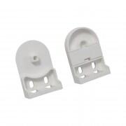 VICTORIA M Standard-Rollo Ersatzteil-Set Hart-PVC (Komplettsatz inkl. Kindersicherung)