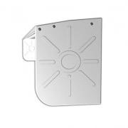 JAROLIFT Regenschutzdach für Basic Markise 250 x 150cm, weiss