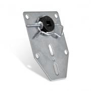 JAROLIFT Motorlager SLLAU Universal-Abrolllager f. 10mm Vierkant